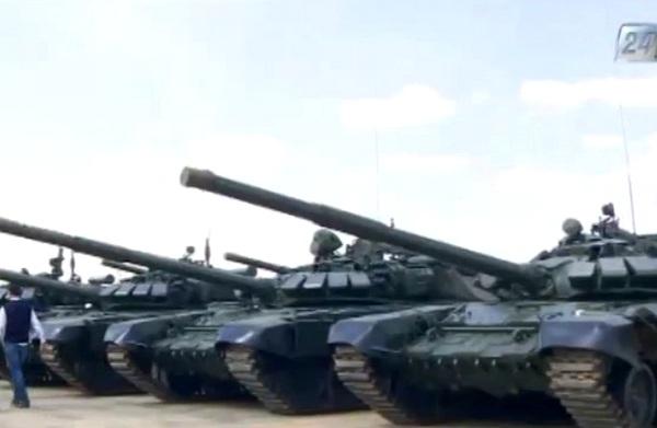 Танки ВС Казахстана
