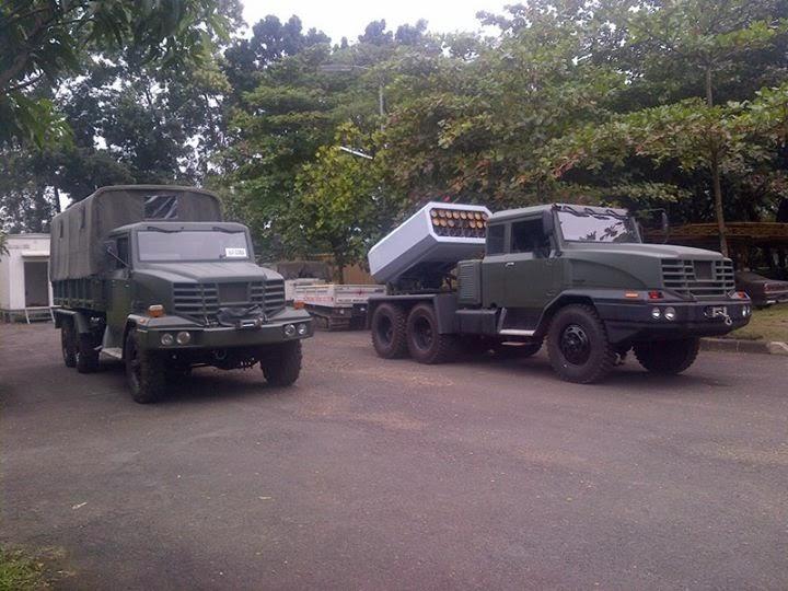 грузовики от компании PT AIU