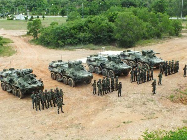 БТР-3Е1 корпуса морской пехоты Таиланда (с) thaiaav2012.blogspot.ru