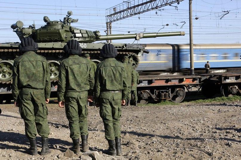 Т-72 ВС России в Крыму