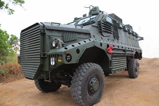 Cobra 4x4 MRAP (c) Sompong Nondhasa