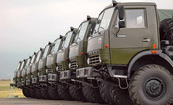 грузовики марки КамАЗ