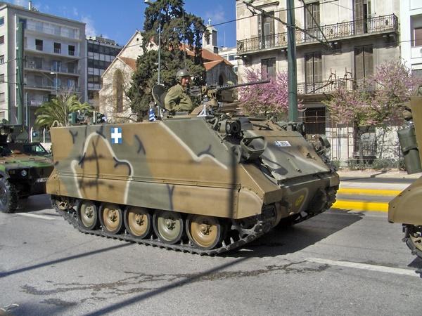 M113 ВС Греции