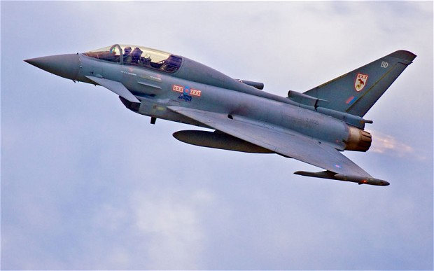RAF Typhoon (c) ALAMY