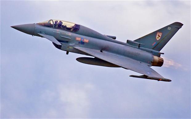 RAF Typhoon (c) ALAMY