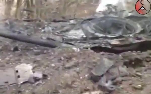 кадры видео с места взрыва