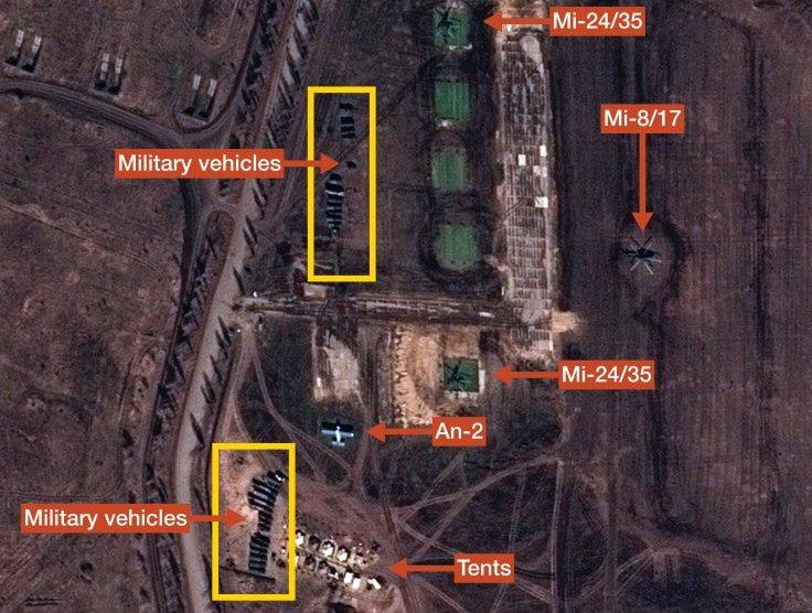Спутниковые снимки 31 марта