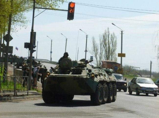 Фотографии из Новошахтинска — 10 км. от украинской границы. Фото: InfoResist