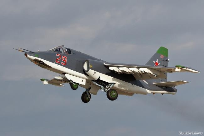 Штурмовик Су-25СМ (c) SLukoyanov