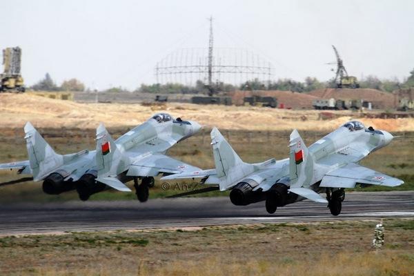 МиГ-29 ВВС Беларуси (c) BelArmy.by