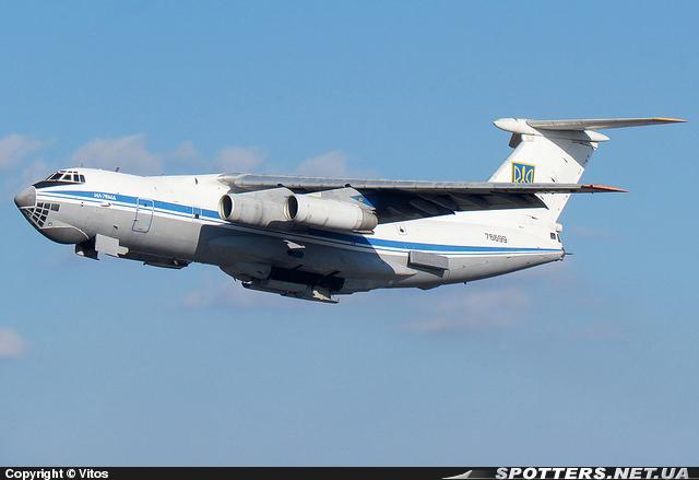 4-й Ил-76МД ВС Украины (c) spotters.net.ua Vitos