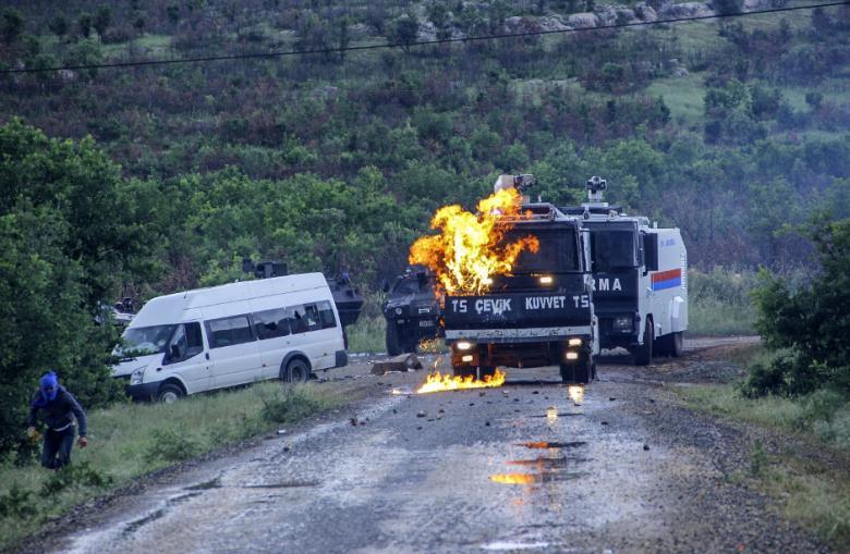 Столкновение силовиков с сепаратистами