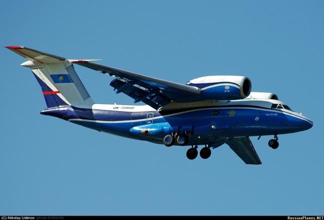 Ан-72 Пограничной службы КНБ РК (c) Николай Усанов
