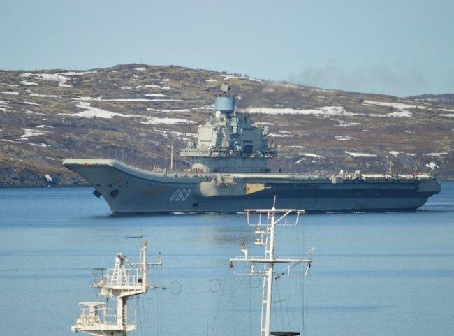 авианесущий крейсер Адмирал флота Советского Союза Кузнецов