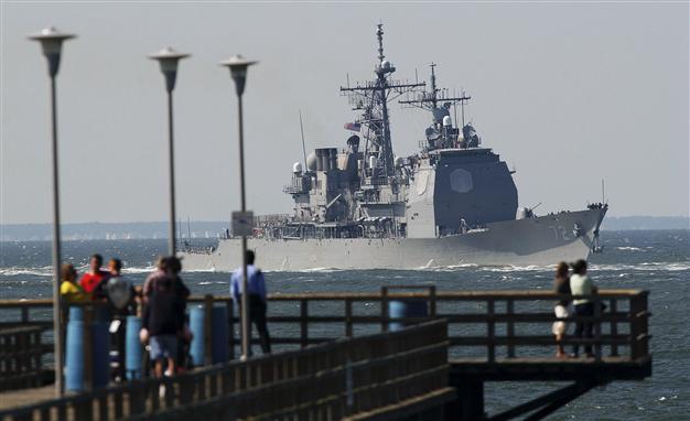 Корабль ВМС США USS Vella Gulf