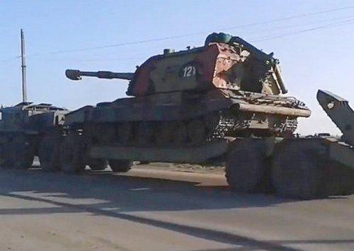 САУ Мста-С ВС Украины