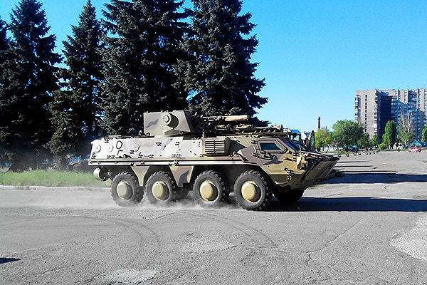 БТР-4 Национальной Гвардии Украины