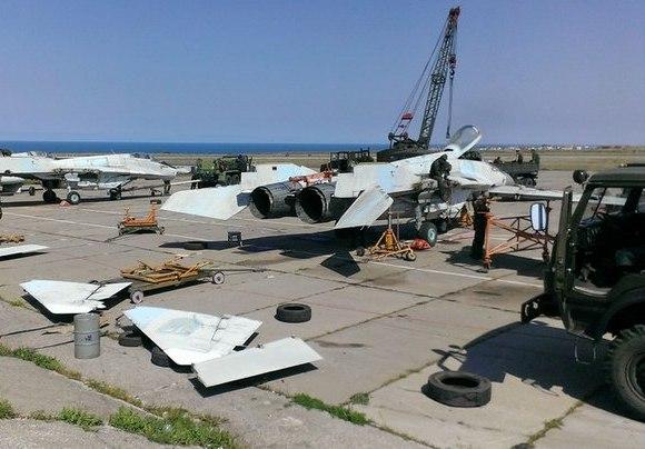 МиГ-29 ВС Украины вывозят из Крыма (c) freejournal.biz