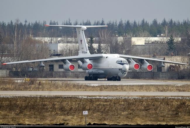 Ил-78М ВВС России (c) Александ Усанов / russianplanes.net