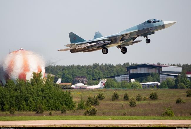 Т-50 (c) Николай Краснов russianplanes.net
