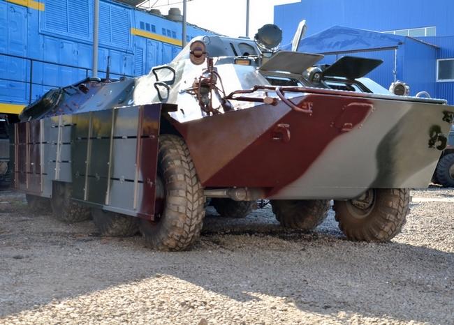 БТР-70 для Нацгвардии Украины