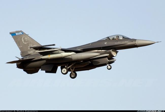 F-16C Block 52 Национальной Гвардии Южной Каролины