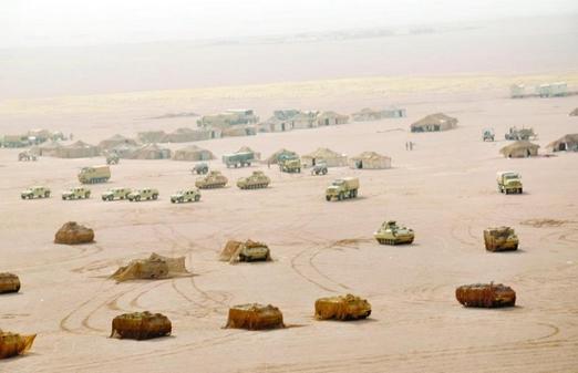 учения сухопутных сил Саудовской Аравии