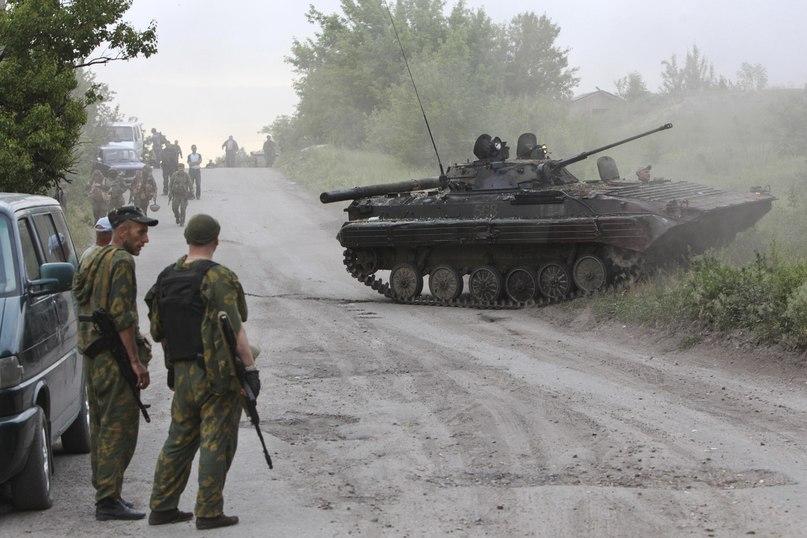 Захваченная БМП-2 ВС Украины