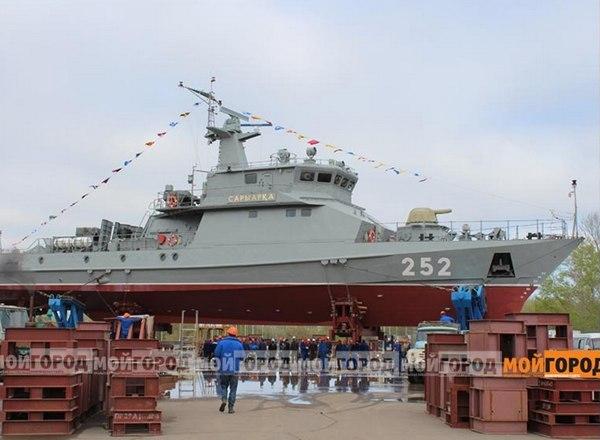 Ракетно-артиллерийский корабль проекта 250 зав.№3 «Сарыарка»