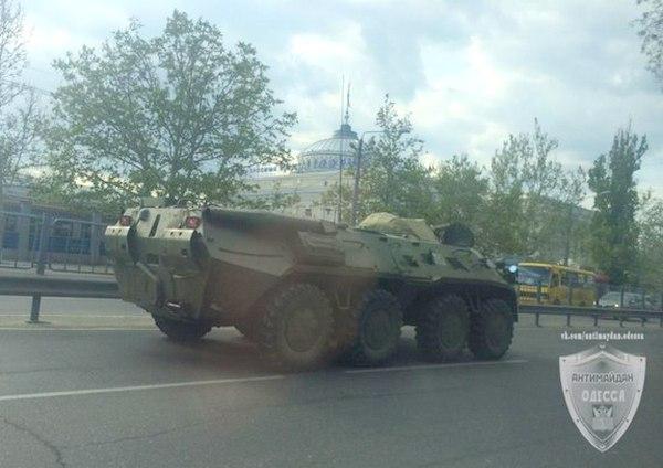 БТР-80 в Одессе