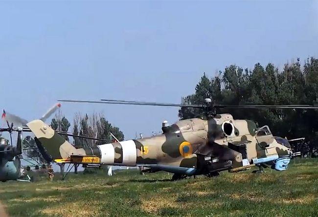 Ми-24П «желтый 15» с  Адрос КТ-01АВЕ