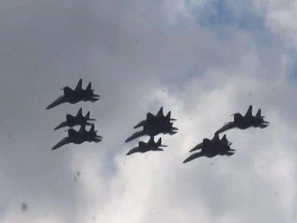 Истребители над Крымом