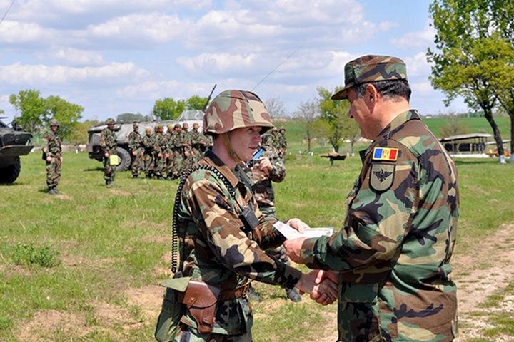 Учения ВС Молдовы