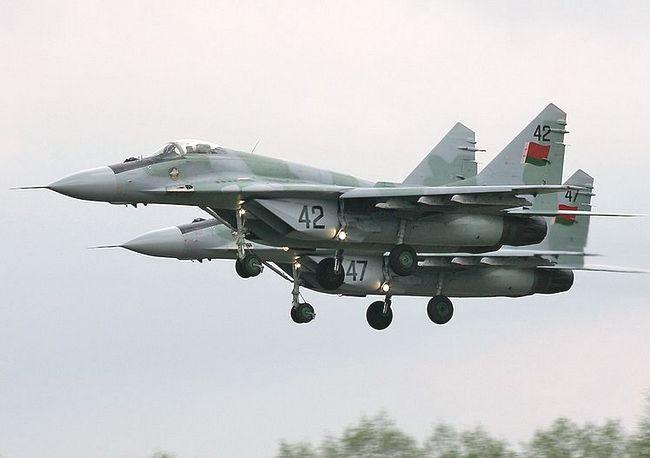 МиГ-29 ВВС Беларуси (c)  Dmitriy Pichugin