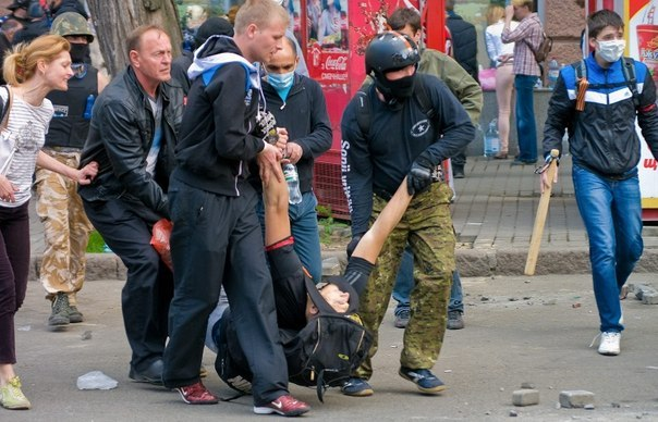 2 мая на улицах Одессы