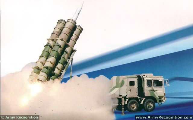 ЗРК средней дальности FK-3 armyrecognition.com