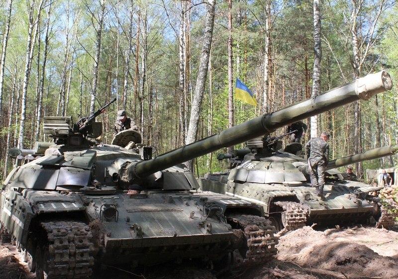Танки Булат ВС Украины
