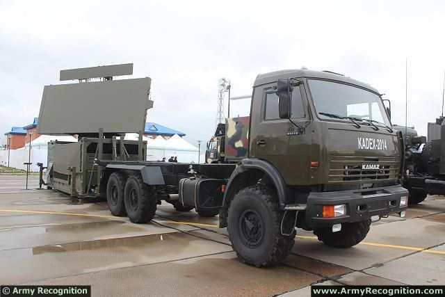 РЛС GM400 на выставке KADEX 2014