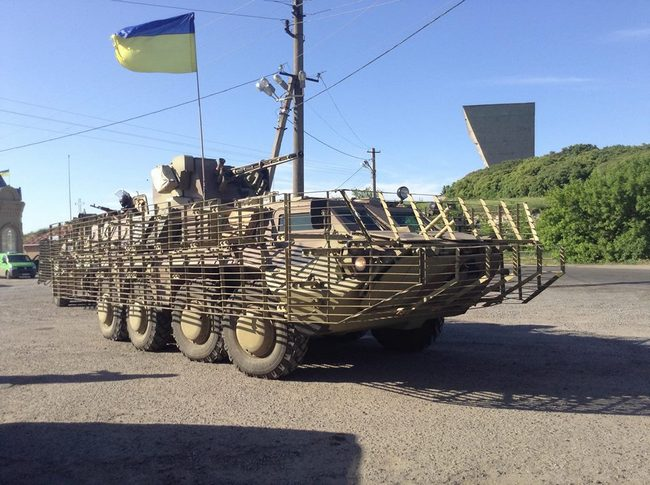 БТР-4 Нацгвардии Украины