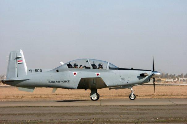 T-6A Texan II ВВС Ирака (c) Sgt. 1st Class Tyrone Marshall