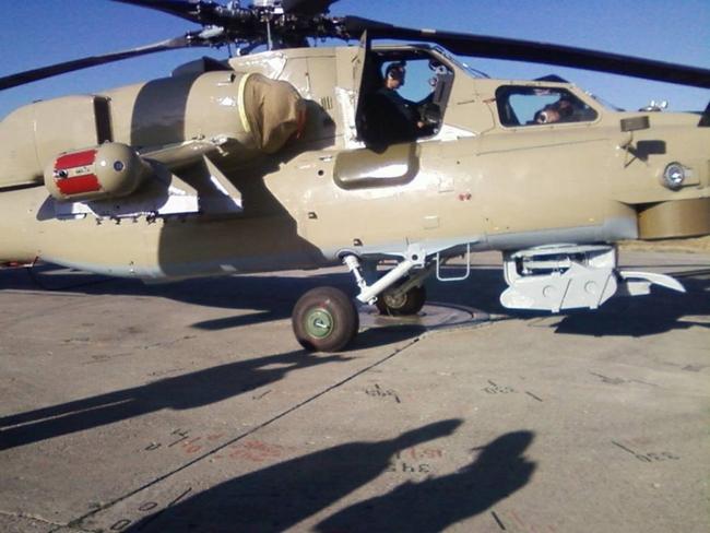 Предположительно первый Ми-28 ВС Ирака