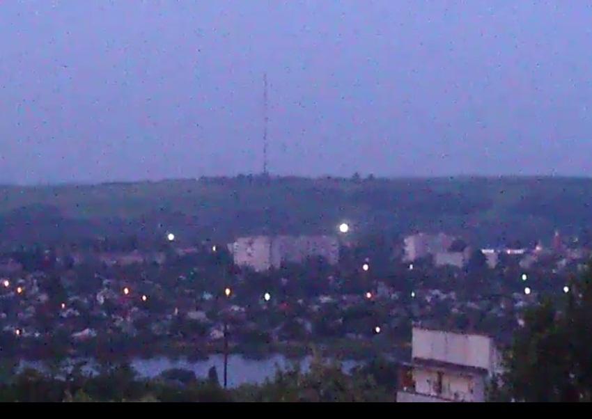район телевышки в Славянске
