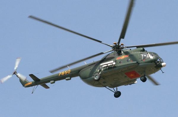 Ми-8 ВС Вьетнама