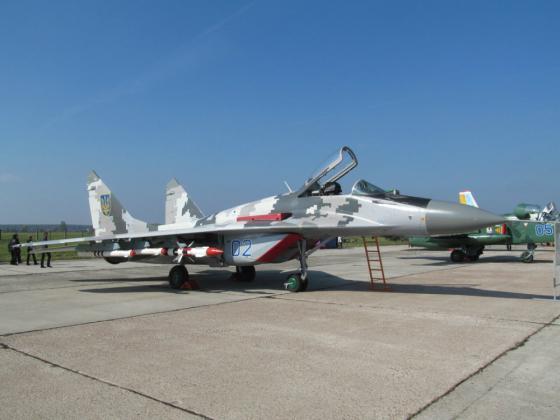МиГ-29 ВС Украины (c)  flackelf.livejournal.com