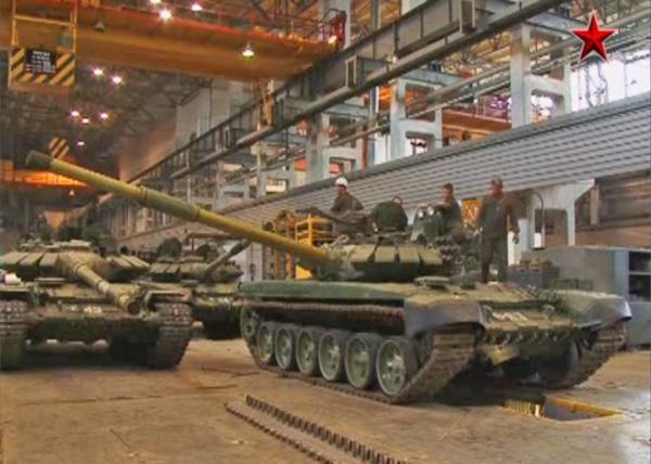 Т-72-Б3 (c) «ТРК ВС РФ «ЗВЕЗДА»