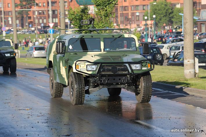 бронированный автомобиль Бравый солдат ВС Беларуси