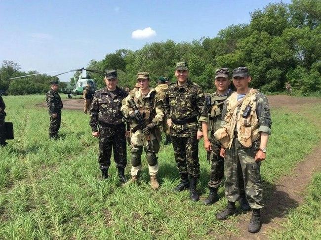 инспекция ВС Украины расположение военных вблизи границ с Россией