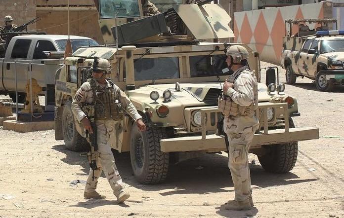 продвижение ВС Ирака