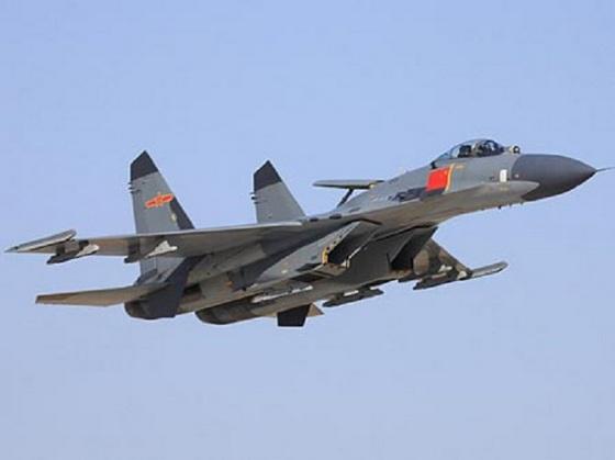 Су-27 ВВС Китая
