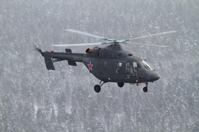 Ансат-У  (c) www.russianhelicopters.aero